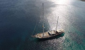 Mykonos: Superior Motor-Sailing Cruise Program – 7hrs
