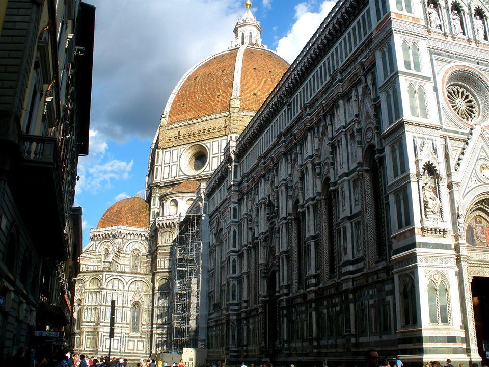 Walking through Florence