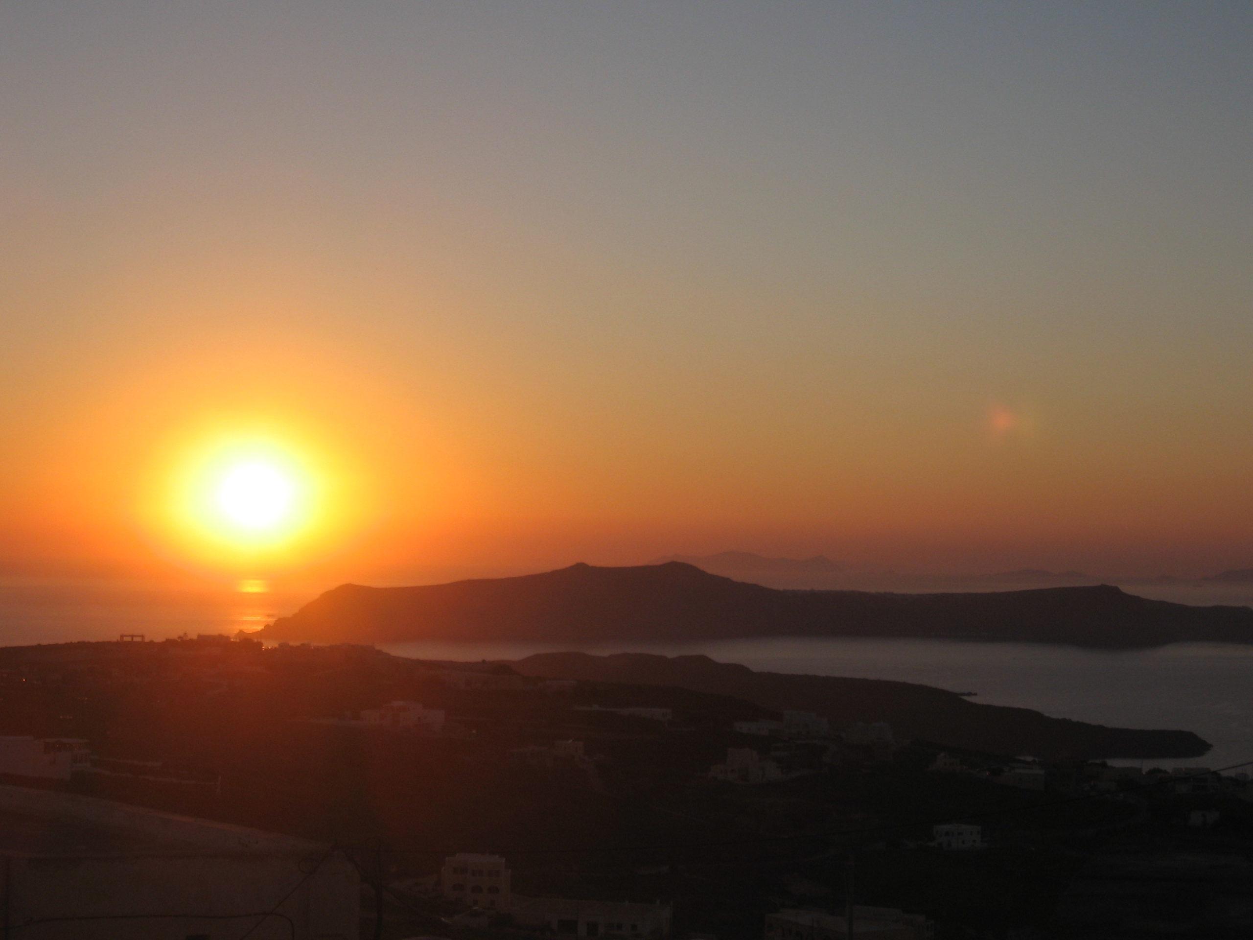 Santorini: Caldera Vulcano Mare Tramonto