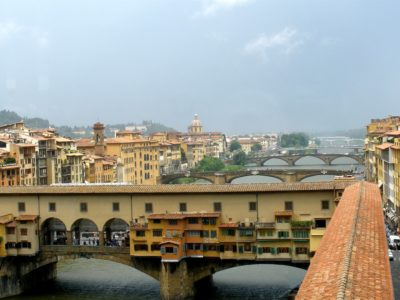 Walking through Florence